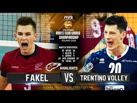 Trenino Volley - Fakel Novy Urengoy (Highlights)