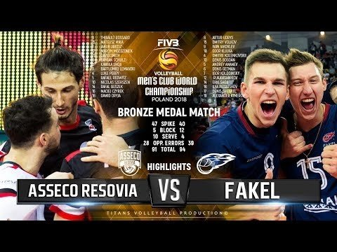 Resovia Rzeszów - Fakel Novy Urengoy (Highlights)