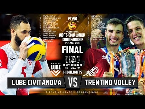 Lube Civitanova - Trentino Volley (Highlights)
