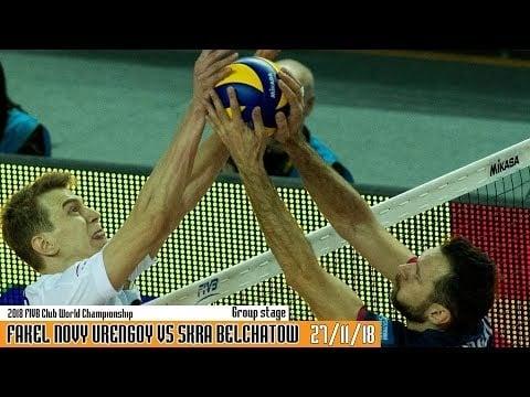 Fakel Novy Urengoy - Skra Bełchatów (full match)