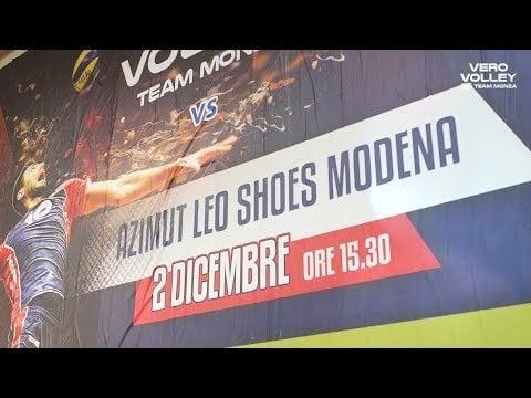 Vero Volley Monza - Modena Volley (Highlights)