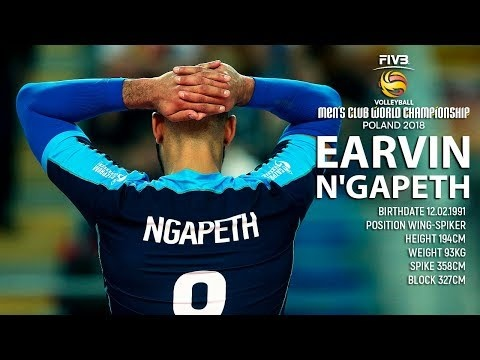 Earvin Ngapeth in Club World Championship 2018