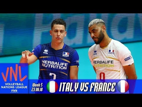 Italy - France (full match)