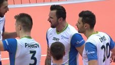 Goerg Grozer in match St. Petersburg - Chaumont VB
