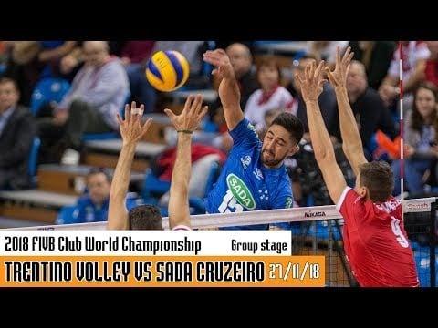 Trentino Volley - Sada Cruzeiro (full match)