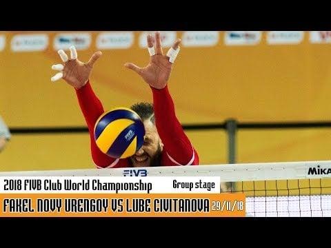 Fakel Novy Urengoy - Lube Volley (full match)