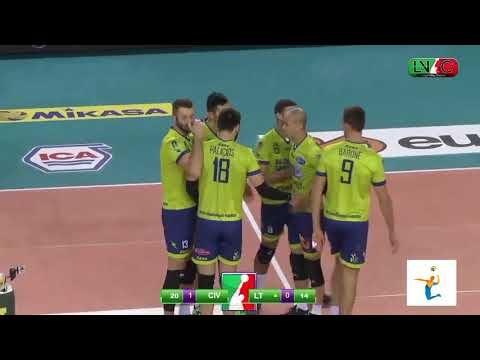 Lube Civitanova - Top Volley Latina (Highlights)