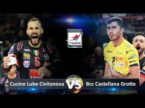 Lube Civitanova - Castellana Grotte (Highlights)