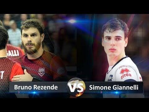 Simone Giannelli vs Bruno Rezende