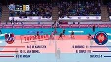United Volleys Frankfurt - Halkbank Ankara (Highlights)