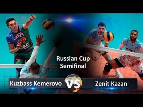 Zenit Kazan - Kuzbass Kemerovo (Highlights)