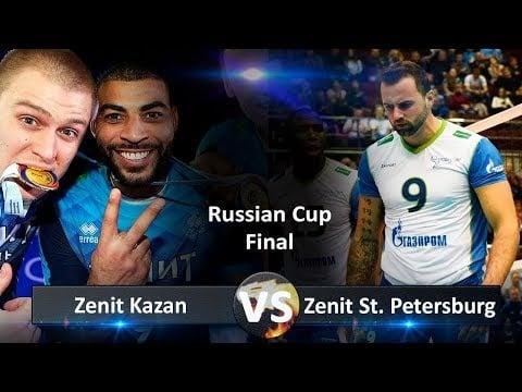 Zenit St. Petersburg - Zenit Kazan (Highlights)