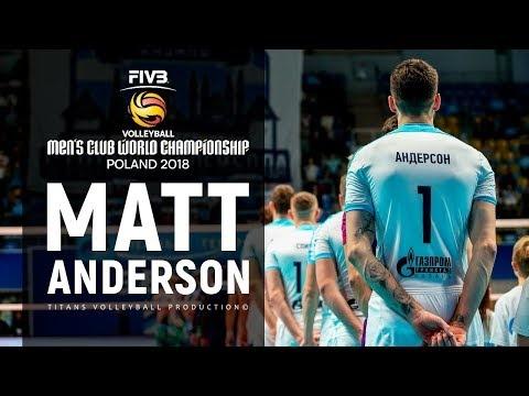 Matthew Anderson in World Championship 2018