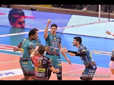 Top Volley Latina - Sir Safety Perugia (short cut)