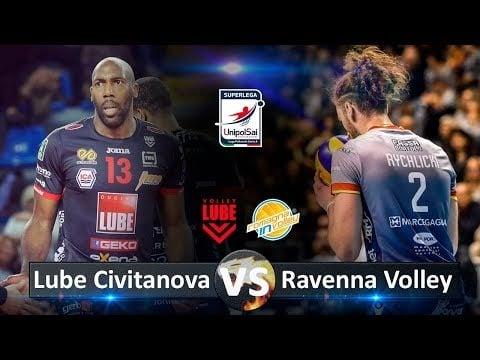 Consar Ravenna - Lube Civitanova (Highlights)