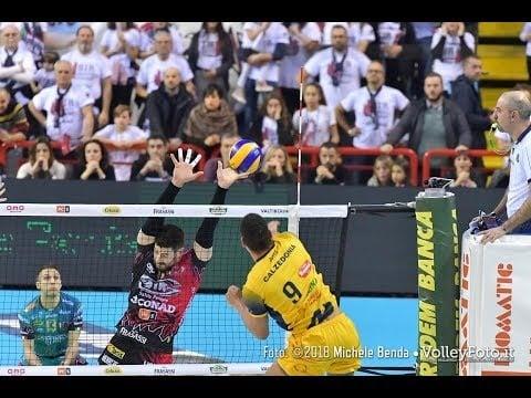Sir Safety Perugia - Blu Volley Verona (short cut)
