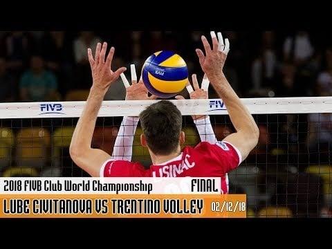 Lube Civitanova - Trentino Volley (full match)