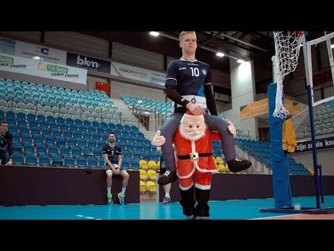 Volleyball trick shots: Knack Roeselare (4th movie)