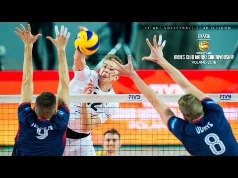 Top 30 volleyball pipes in Club World Championship 2018