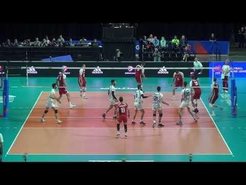 Saeid Marouf in match Poland - Iran