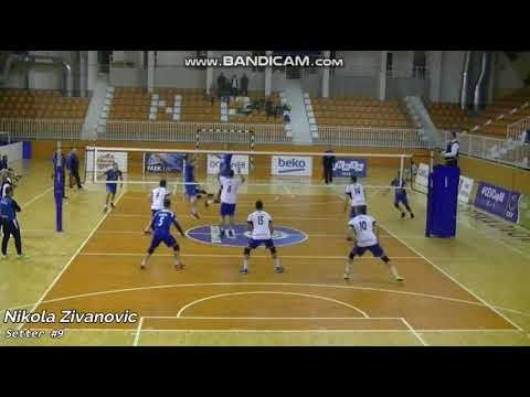 Nikola Zivanovic in match Novi Pazar - OK Bijelo Polje Niko