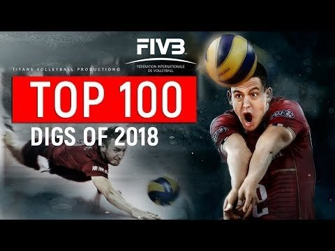 TOP 100 Digs of 2018