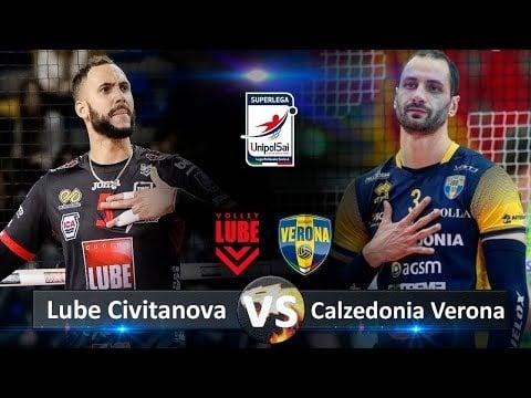Cucine Lube Civitanova - Blu Volley Verona (Highlights)