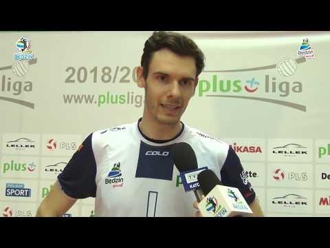 MKS Będzin - Skra Bełchatów (Highlights)