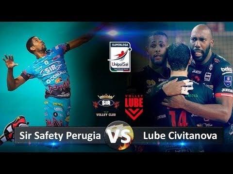 Sir Safety Perugia - Cucine Lube Civitanova (Highlights)