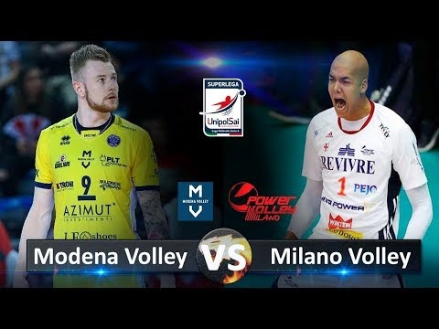 Power Volley Milano - Modena Volley (Highlights)