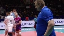 Drazen Luburic funny serve