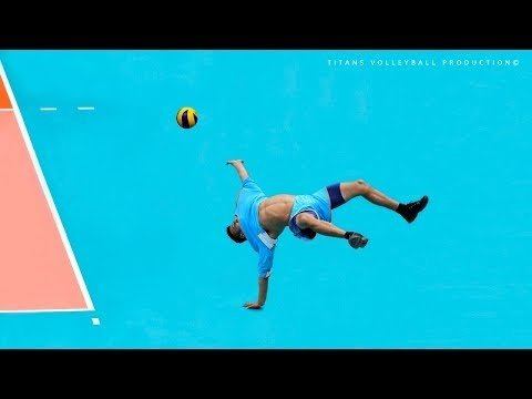 TOP 50 Acrobatic Volleyball Saves
