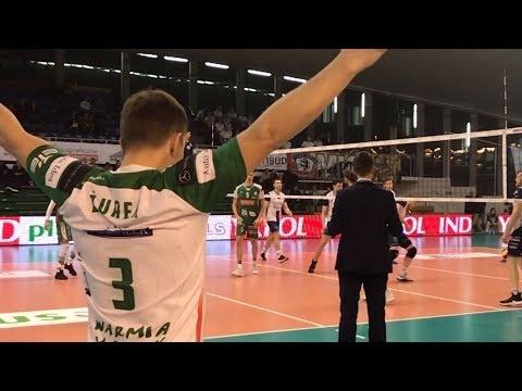 MKS Będzin - AZS Olsztyn (Highlights)