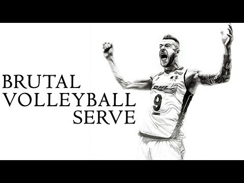 TOP Brutal volleyball serves