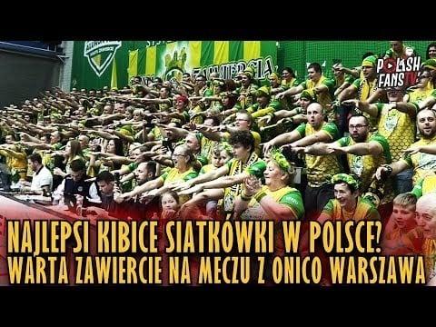 Warta Zawiercie fans in match Warta Zawiercie - ONICO Warsaw