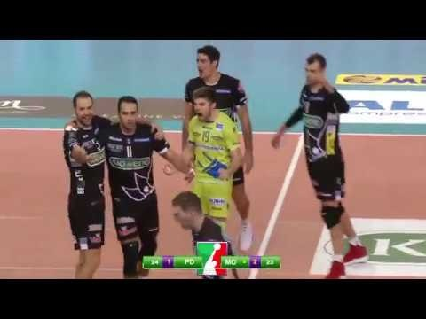 Kioene Padova - Modena Volley (short cut)