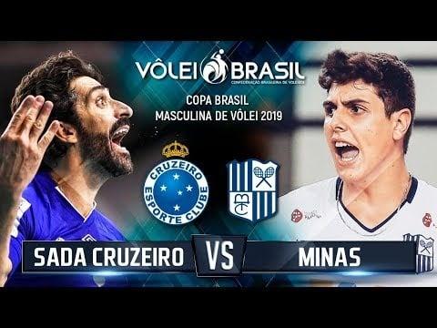 Minas Tênis Clube - Sada Cruzeiro Volei (Highlights)