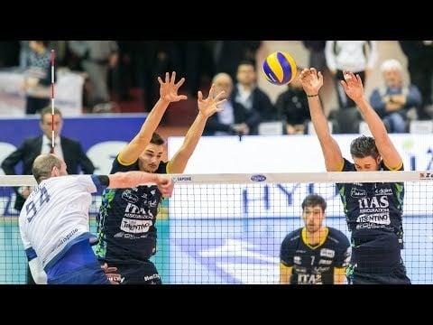 Top Volley Latina - Trentino Volley (Highlights)