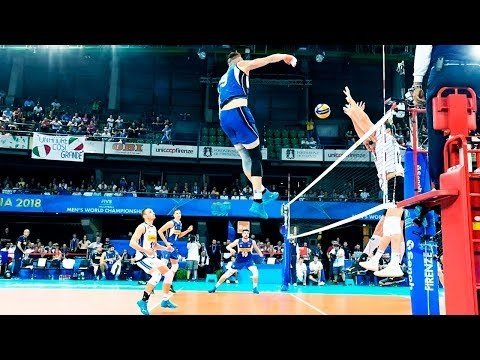 Best spikes in 3rd meter by Ivan Zaytsev