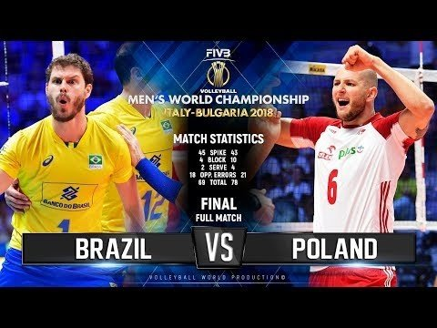 Brazil - Poland (full match)