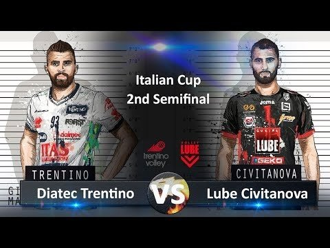 Trentino Volley - Lube Civitanova (Highlights)