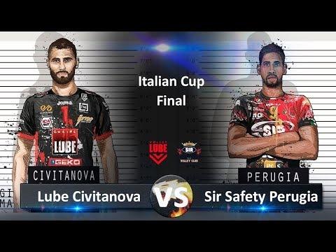 Sir Safety Perugia - Lube Civitanova (Highlights)