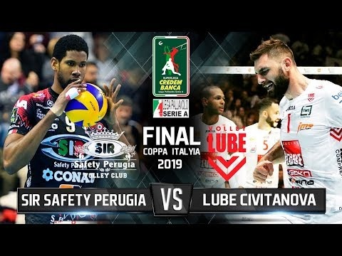 Sir Safety Perugia - Lube Civitanova (Highlights, 2nd movie)