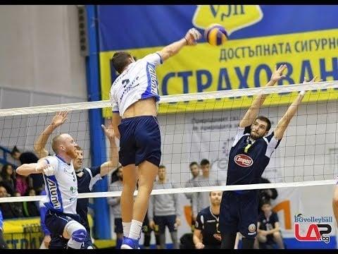 Montana Volley - Levski Sofia (full match)
