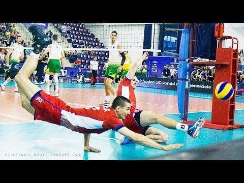 Best Volleyball Defenses / Digs / Saves in 3 minutes