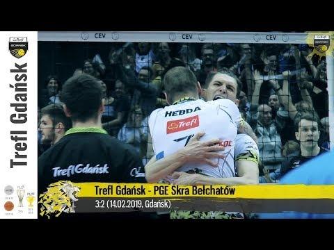Trefl Gdańsk - Skra Bełchatów (Highlights)