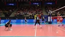 Benjamin Patch in match Maaseik - Berlin