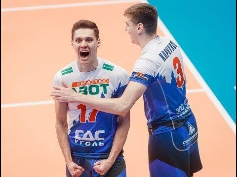 Victor Poletaev three aces in a row (Kuzbass - Fakel)