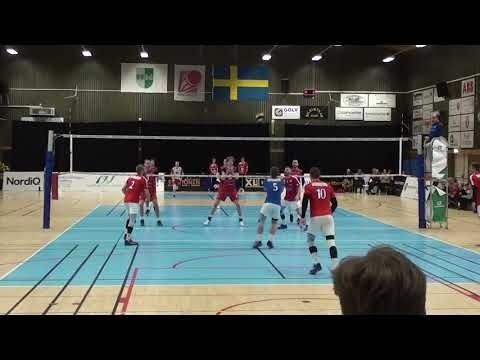 Owen Lamb in match Habo Volley - Orkelljunga Volley
