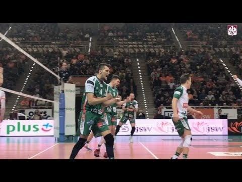 Jastrzębski Węgiel - AZS Olsztyn (Highlights)